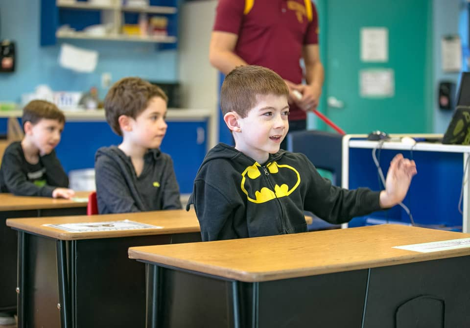 autistic boy education student classroom