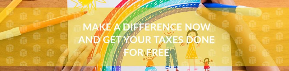 Make A Difference Now And Get Your Taxes Done For Free