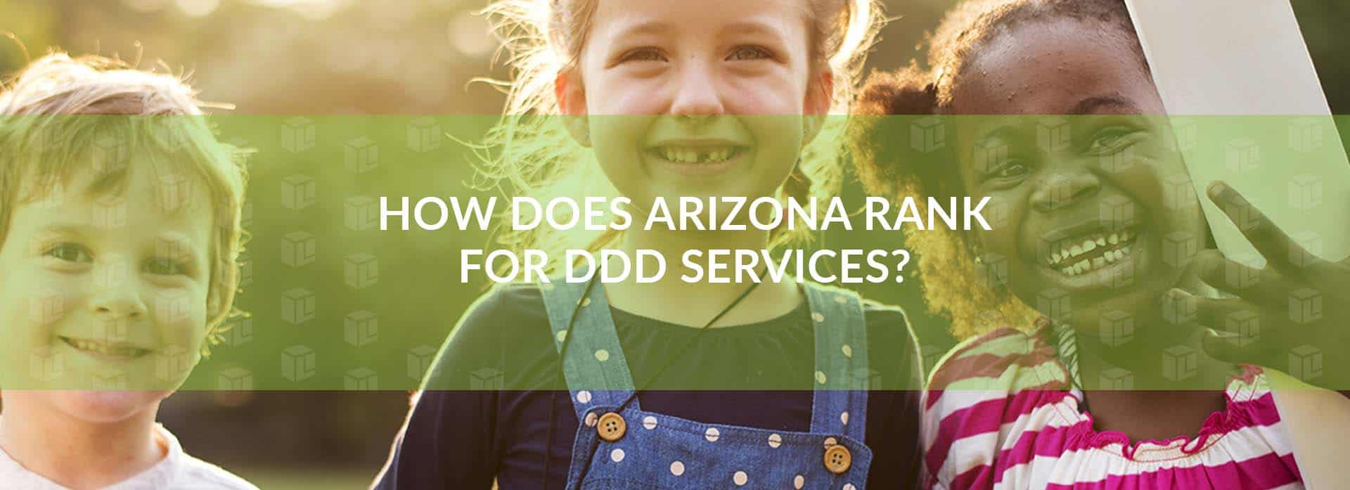 How Does Arizona Rank For DDD Services
