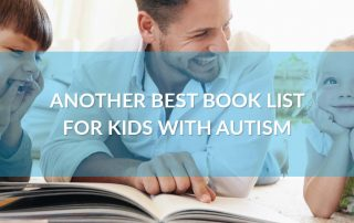 book list for kids with autism, autism, special needs