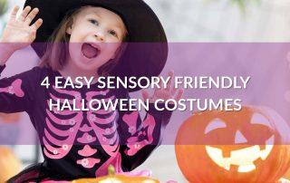 4 Easy Sensory Friendly Halloween Costumes